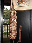 Thai Apsara Angel in adoration