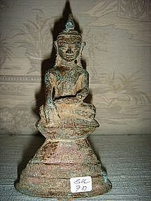 Bronze Buddha 19th Century Burma