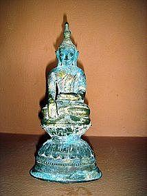 Bronze Shan State Buddha 17th/18th Century