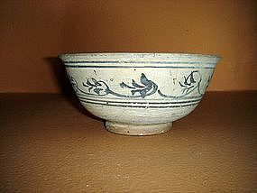 SISATCHANALAI-Sukothai Ceramic Bowl, 15th Century