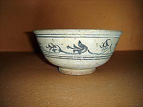 SISATCHANALAI-Sukothai Ceramic Bowl, 15th Century