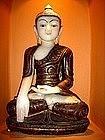 Extremely Rare Marble Shakyamuni Buddha, Burma,