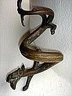 Chinese Bronze Dragon, Ming, 18th Century
