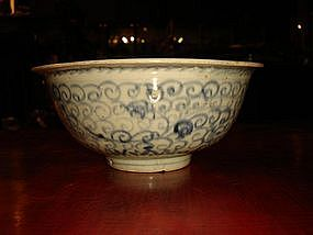 Ming Dynasty Blue + White Bowl