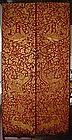 Stunning Temple Doors, 19th Cent. Thailand