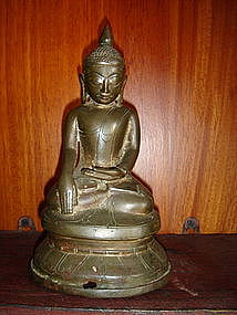 Ava Bronze Buddha 17/18th Cent. Burma