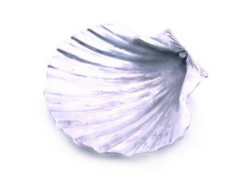 Pewter Sea Shell Tray-Dish