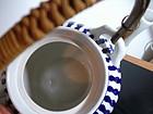 Vintage Napco Blue Teapot