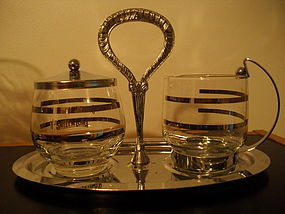 Vintage Sweet N Low Cream and Sugar Set