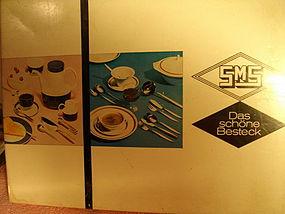 SMS Germany Sarosil 18/8 Pattern Flatware Serving Set