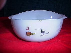 Anchor Hocking Fire King BC Comic Cereal Bowl