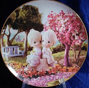 Precious Moments Collector Plate