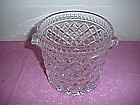 Crystal Waffle Pattern Ice Bucket