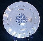 Harkerware Blue Dane Bread and Butter Plate