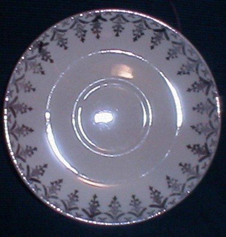 Paden City Teacup Saucers