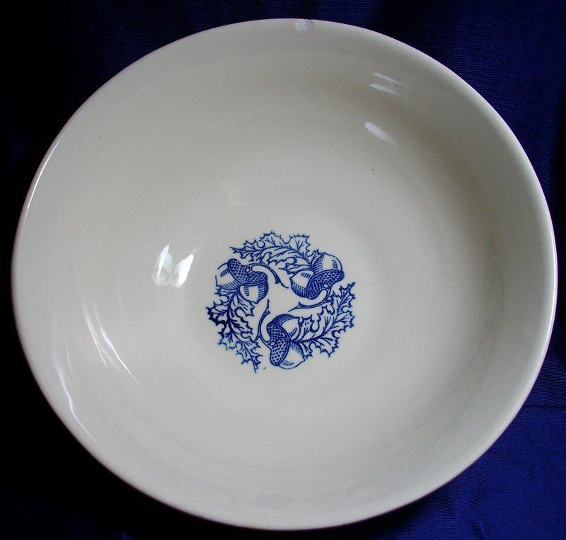 Universal Cambridge Acorn Pattern Stonware Bowl/Blair