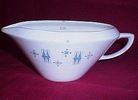 USA China Turquoise Diamond Gravy Boat #23