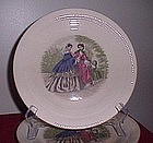 Salem China Godey Prints