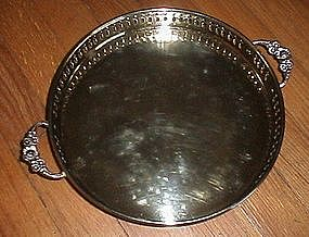 Brass Handled Tray