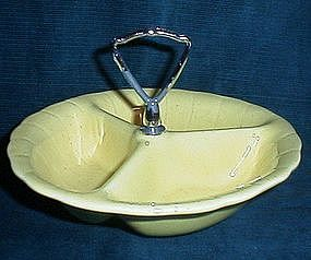 Lane and Co Divided Serving Bowl