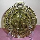 Indiana Glass Killarney Pattern Divided Relish Dish