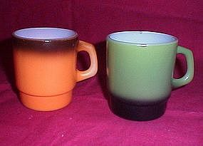 Anchor Hocking Fire King Stacking Coffee Cups