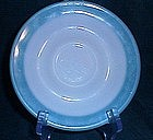 Pyrex Turquoise Band Saucer