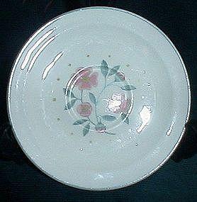Homer Laughlin Tudor Rose Saucers