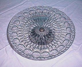 Leonard Silver Foot Cake Plate