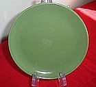 Olive Green Matte Coupe Bread and Butter Plate