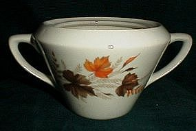 Mount Clemens Leaves and Ferns Sugar Bowl