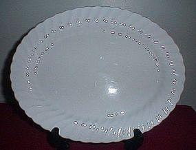 Johnson Bros Snowhite Regency Platter