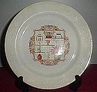 Stetson Curiosity  Pattern Plate