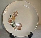 Salem China Autumn Leaves Pattern Plate