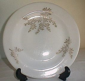 Federal Golden Glory Dinner Plate