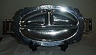 Continental Chrome Three Part Relish Tray