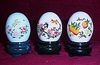 Avon Decorative Egg Decanters