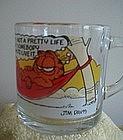 McDonald's Garfield Glass Mug