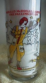 Ronald McDonald Glass