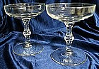 Libbey Rock Sharp Georgian Crystal Stemware
