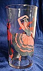 Hazel Atlas Flamenco Dancers Glass Tumbler