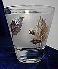 Libbey Gold Leaf Pattern Glassware