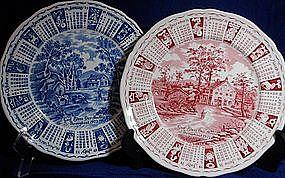 Alfred Meakin Callendar Plates