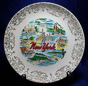 State of New York Collector Plate