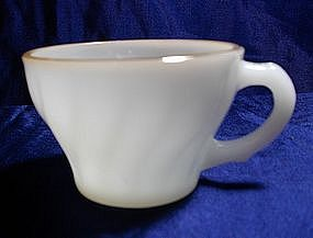 Anchor Hocking Suburbia Swirl Small Cups