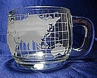 Nescafe Around the World Coffee Cup