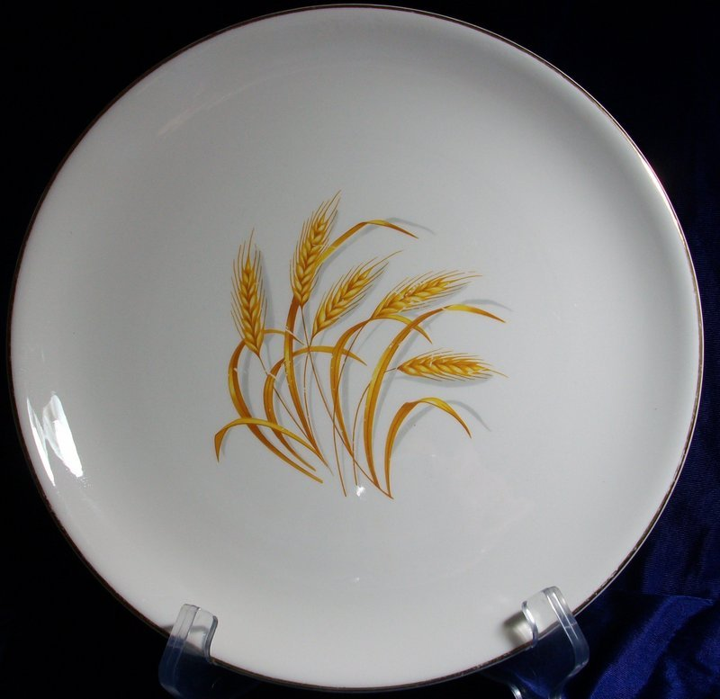 Homer Laughlin Golden Wheat Pattern Dinnerware