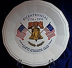 Homer Laughlin Bicentennial Liberty Bell Plate