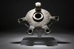RARE - Biblical Roman Herodian jerusalem type oil lamp
