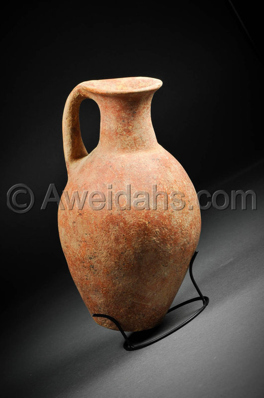 Ancient Early Bronze Age Abydos wine jug, 3000 BC